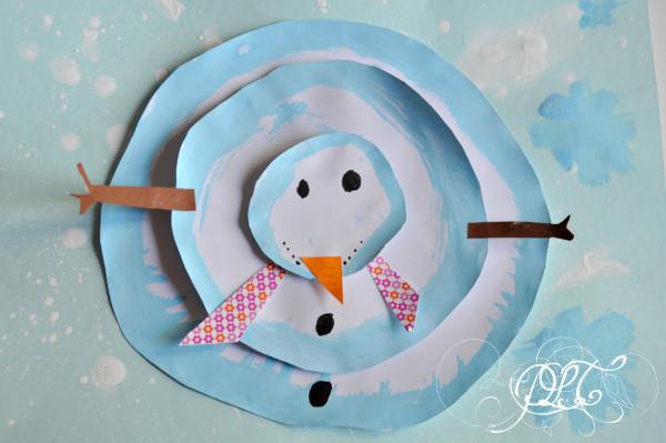 Prendre le temps - Voyageons Ludique - Neiges Éternelles - Bonhomme de neige