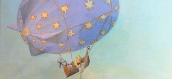 Prendre le temps - Coup de cœur de bibliothèque - Le marchand de sable et la lune