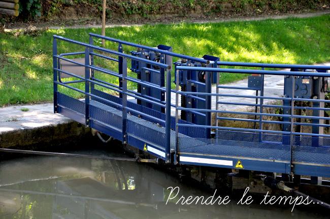 Prendre le temps - Canal du Midi - Naurouze, partage des eaux - écluse de l'Océan