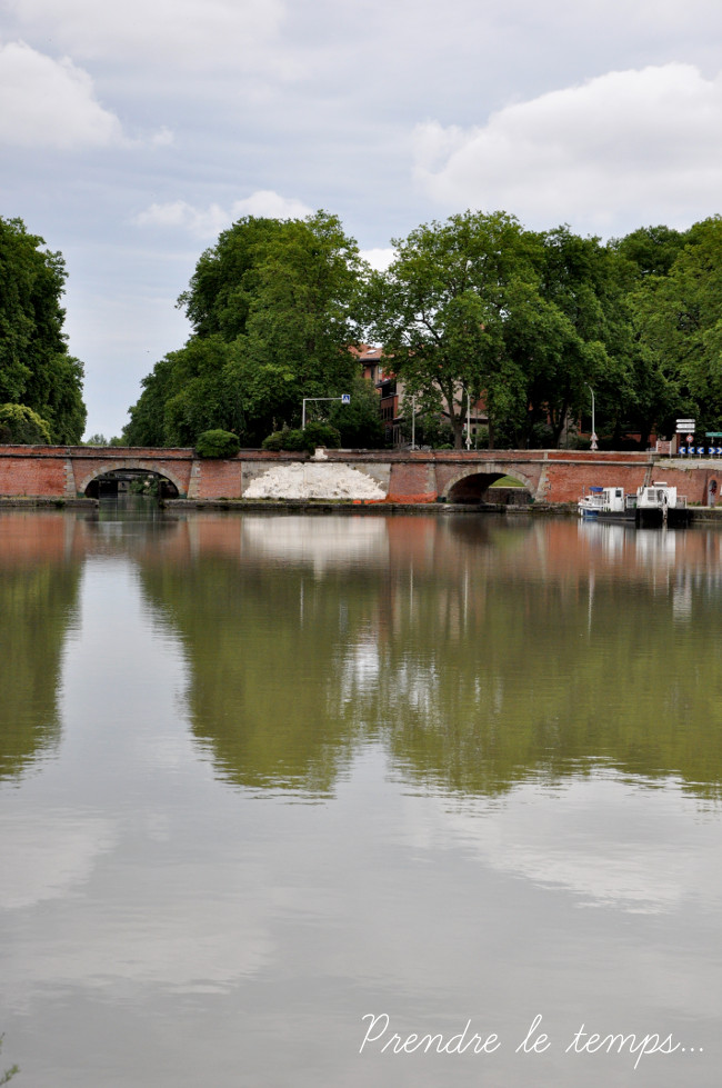 Prendre le temps - Canal du Midi - Toulouse - Ponts Jumeaux - Port de l'Embouchure