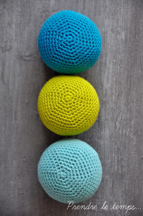 Prendre le temps - Balles de jonglage - crochet
