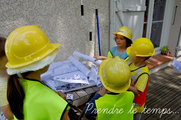 Prendre le temps - Anniversaire Chantier de Construction