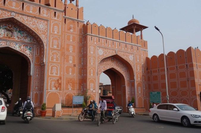 Jaipur - Entrée de la Pink City