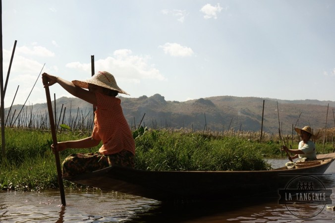 Inle Lake canals