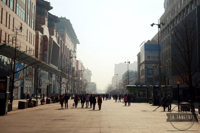 Immenses rues piétonnes