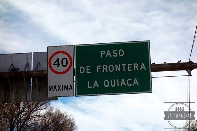 La frontera !