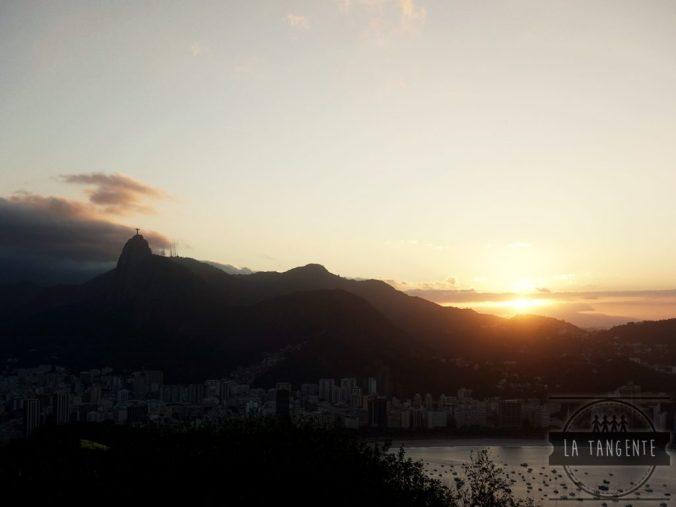 Coucher de soleil depuis le Pan de Azúcar