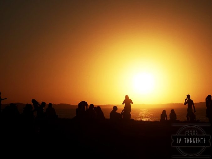 Coucher de soleil sur Barra