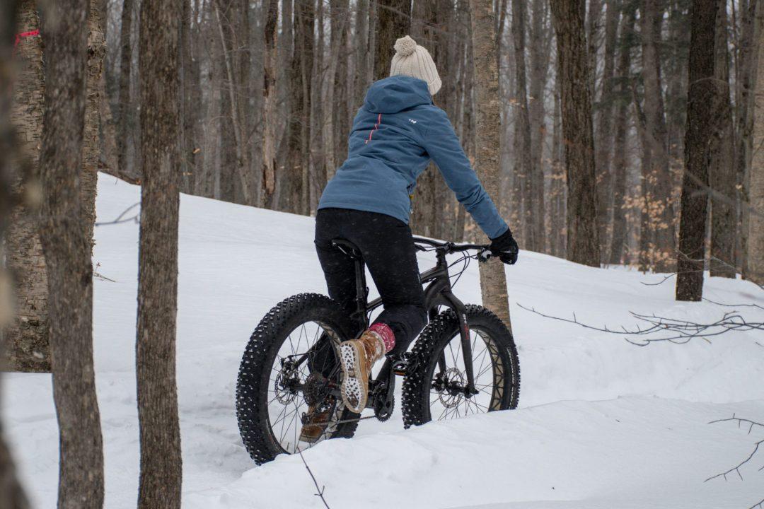 vélo pneus surdimensionnés