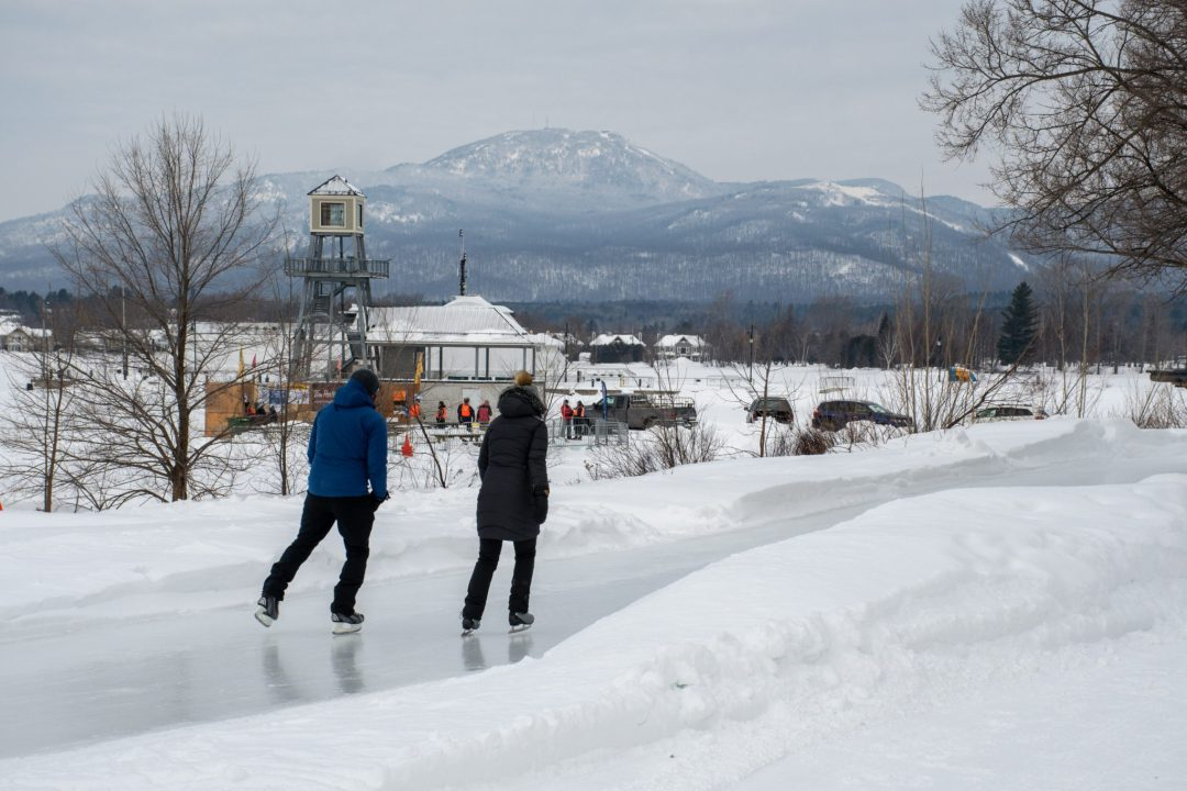 patins à glace magog hiver