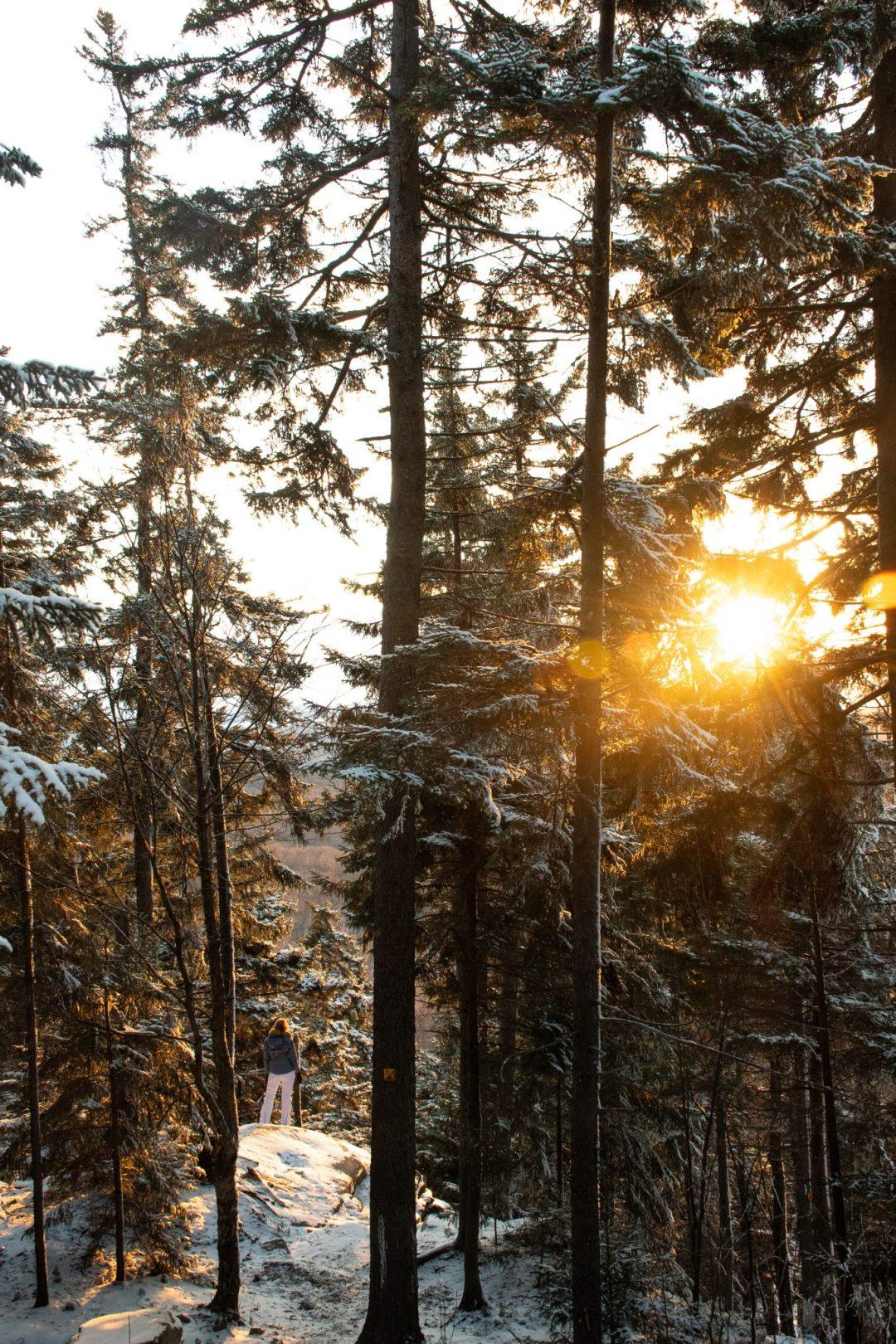 coucher de soleil megantic