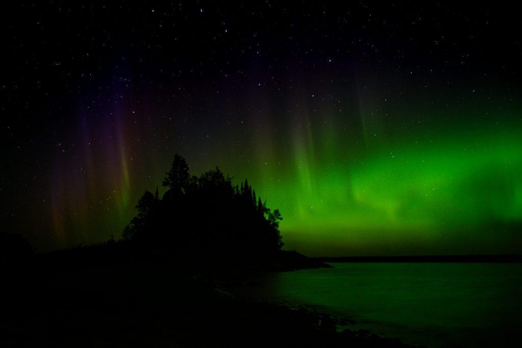 aurores boréales Québec