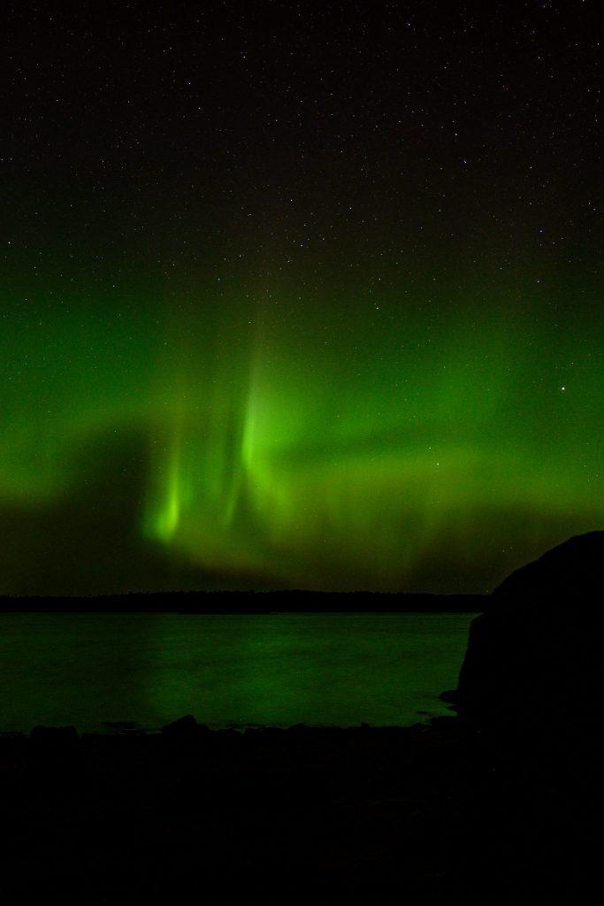 aurore boreale Québec