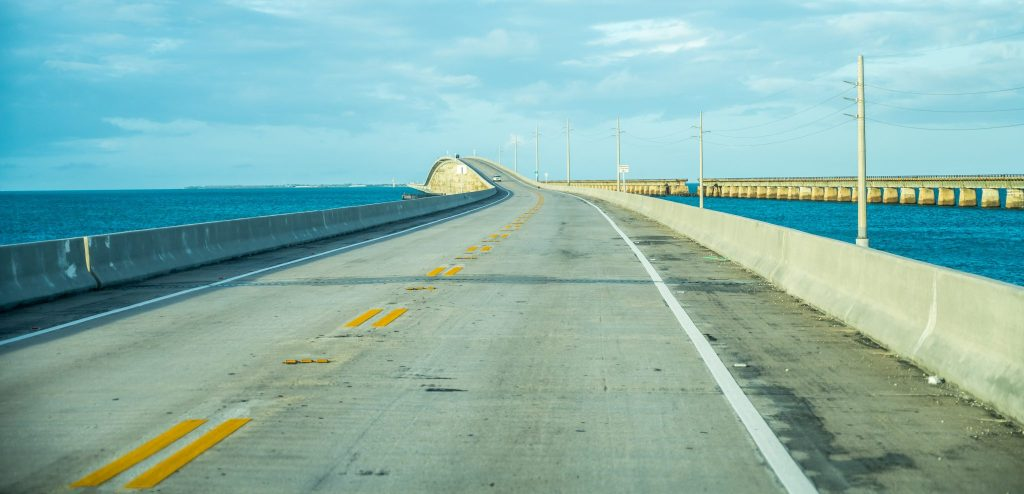 Overseas Highway road trip floride