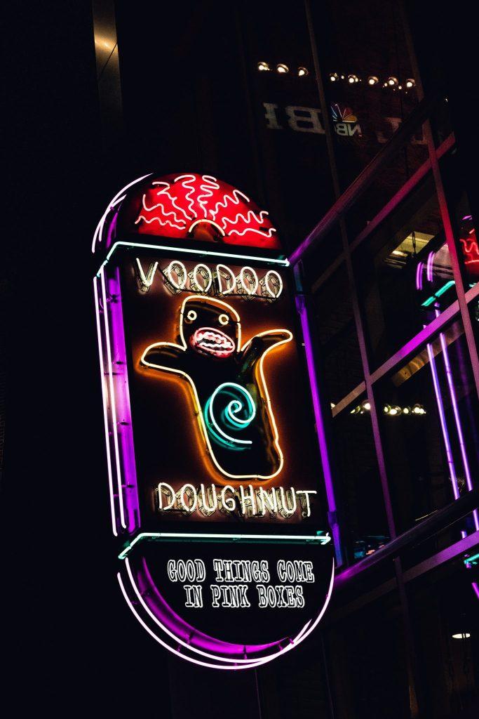Voodoo Doughnut road trip floride