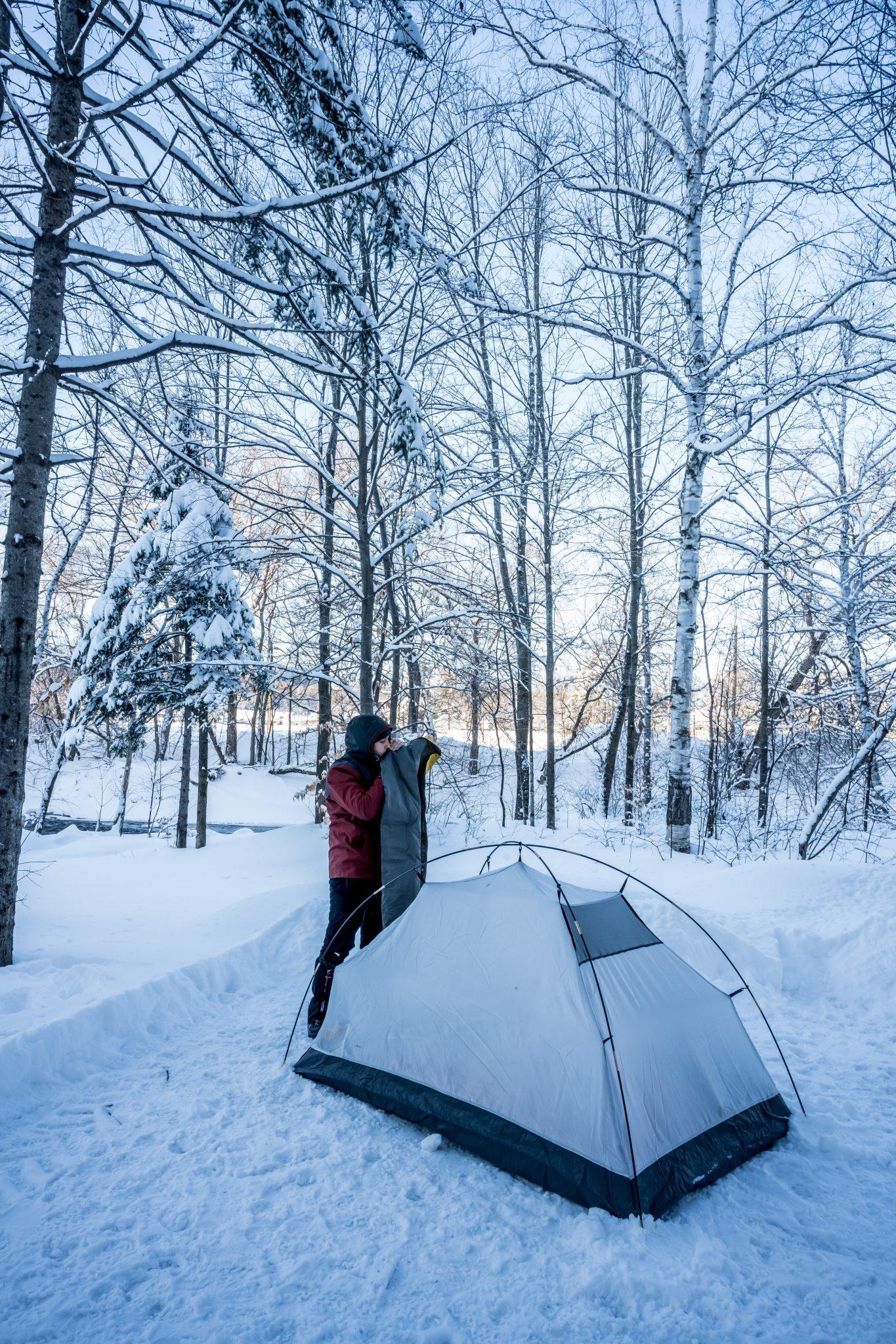 tente neige