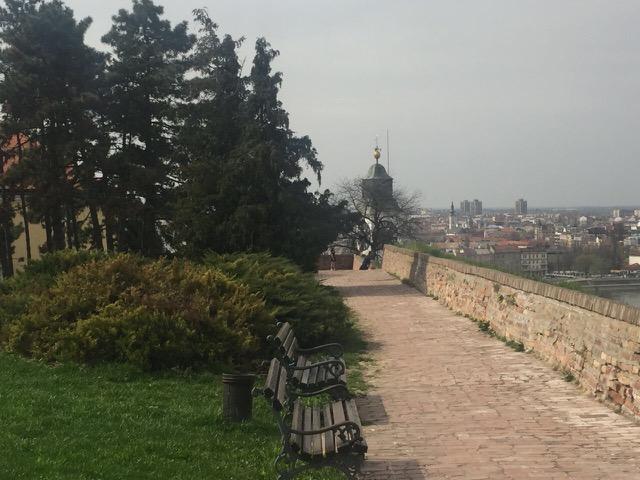 Petrovaradinska tvrđava pogled na grad