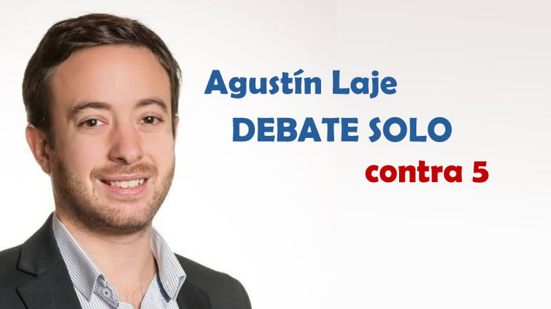 Video-Debate Laje solo contra 5