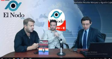 Colombia: reportaje en TV a Nicolás Márquez y Agustín Laje