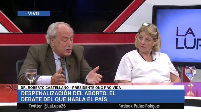 IMPERDIBLE: Roberto Castellano y Chinda Brandolino DAN CÁTEDRA CONTRA EL ABORTO