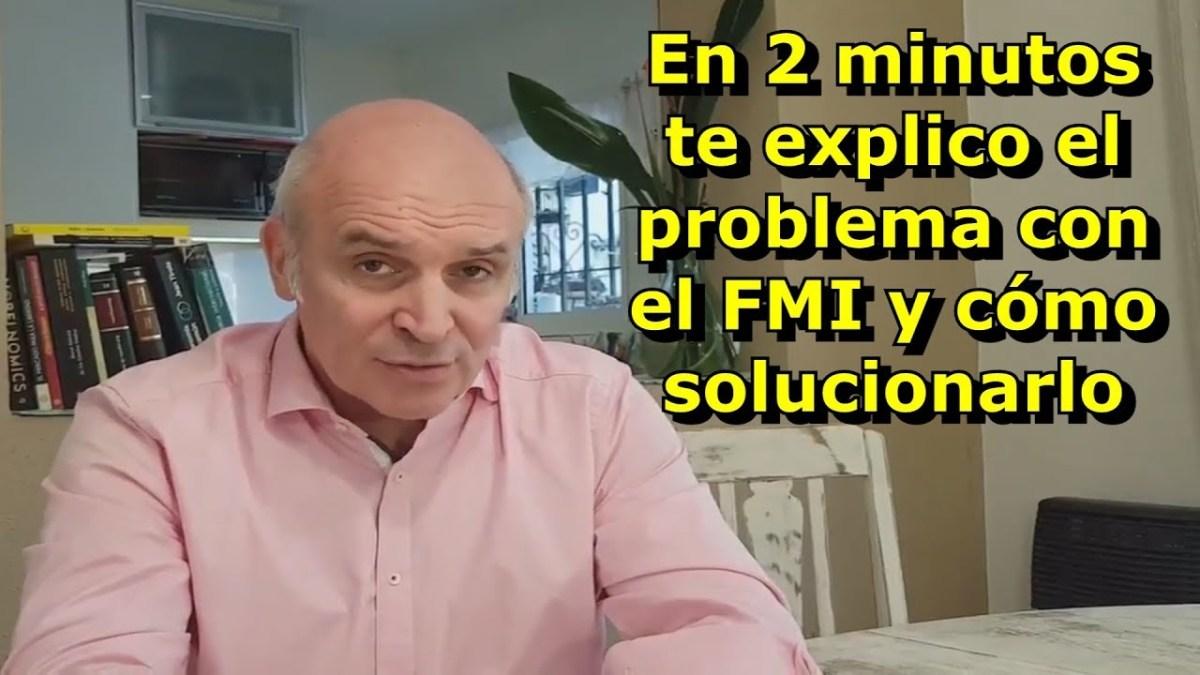 Macri al ir al FMI, hizo lo mismo que los gobiernos populistas (2' Con Espert)