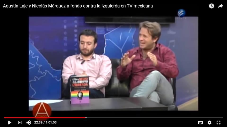 """""""La igualdad de clases sociales es intrínsecamente injusta"""" (Márquez y Laje en la TV mexicana)"""