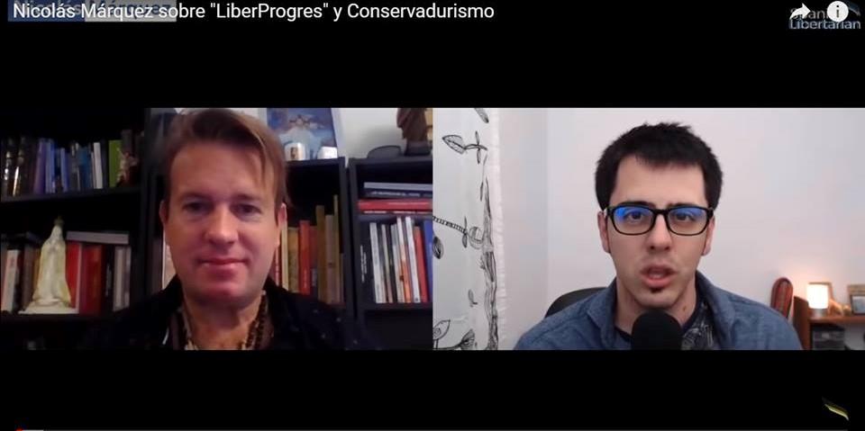 """""""LiberProgres"""" y Conservadurismo: Nicolás Márquez en nota por TV"""