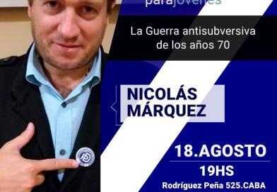 Atención CABA! Conferencia de Nicolás Márquez