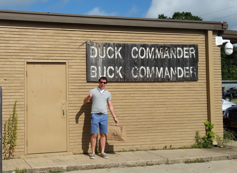 At the Duck Commander Warehouse!