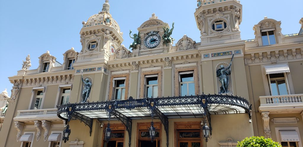front of monte carlo