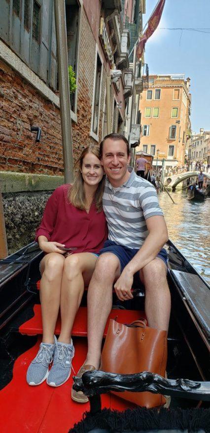 Venetian gondola ride!