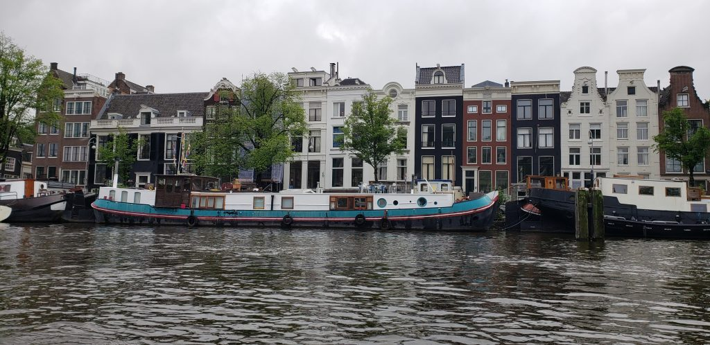 View from our canal cruise boat