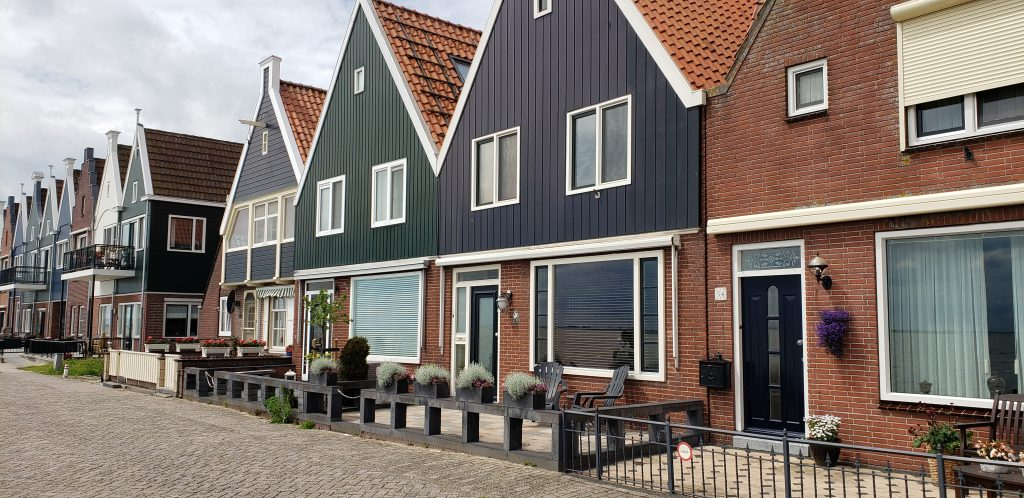 Townhouses in Volendam
