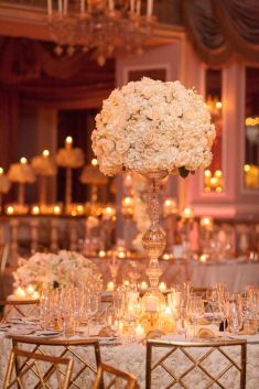 2018 wedding trends over the top centerpieces chic