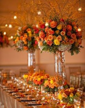 fall over the top centerpiece