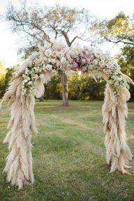 feather arch