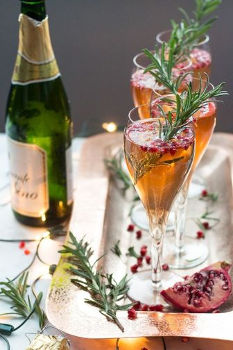 holiday garnishes