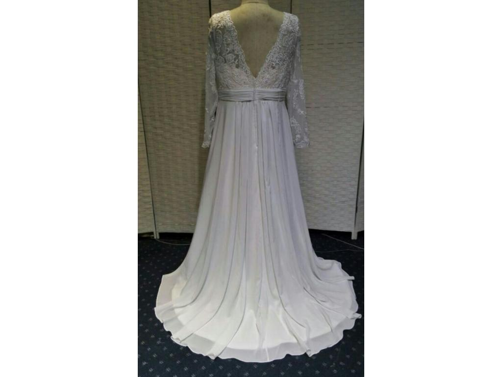 Other Plus Size Wedding Dress With Long Sleeves, $1,100