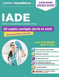 Livres concours IADE