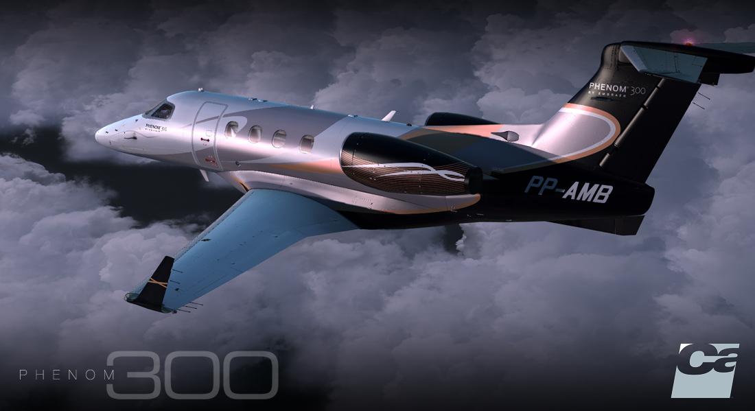 Showcasing Carenado Emb505 Phenom 300 Lockheed Martin