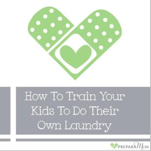 How to Train Your Kids to Do Their Own Laundry - PreparaMom