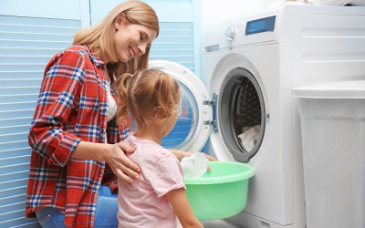 How to Train Your Kids to Do Their Own Laundry