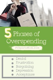 The 5 phases of overspending