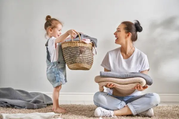 The Top 4 Values Kids Learn from a Family Chore System