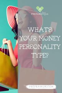 Money personality pin image