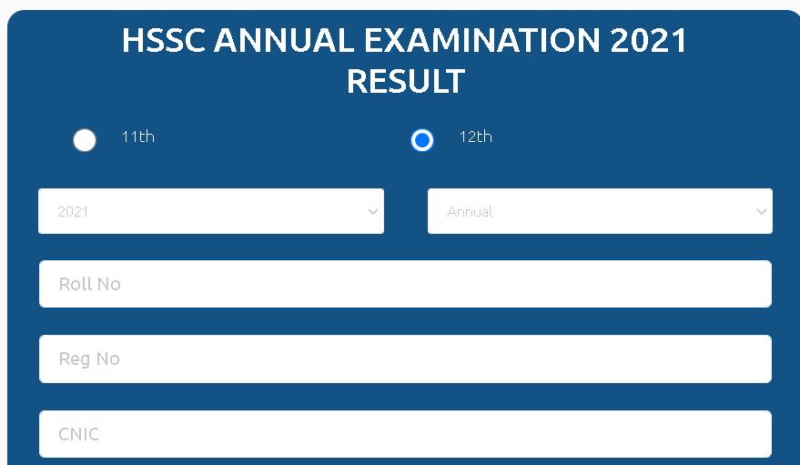 Balochistan Board Result 2021
