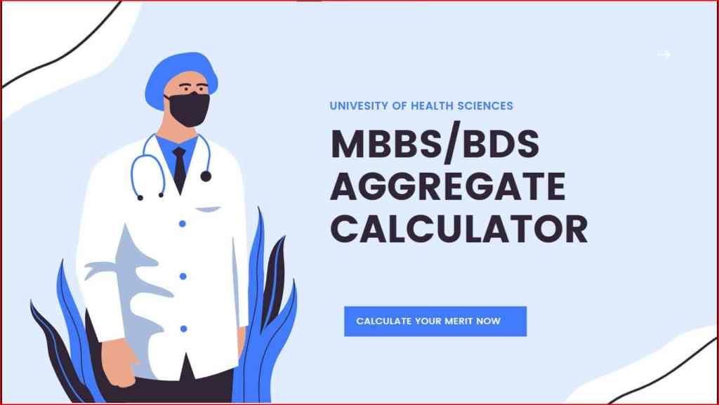 MBBS Merit Calculator 2021