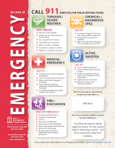 emergency preparedness university of georgia
