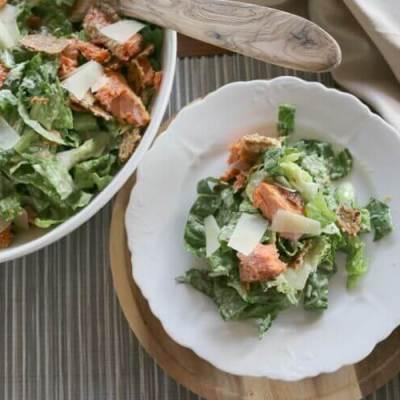 Healthy Caesar Salad (Gluten Free + Real Food)