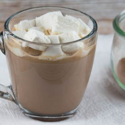 Nourishing Hot Cocoa with Honey-Sweetened Marshmallows (Dairy-Free Option)